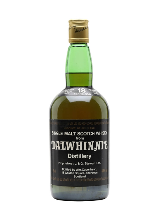 Dalwhinnie 1966 / 18 Year Old Speyside Single Malt Scotch Whisky