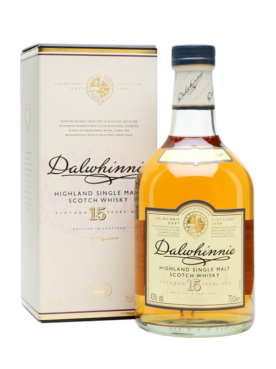 Dalwhinnie 15 Year Old Speyside Single Malt Scotch Whisky