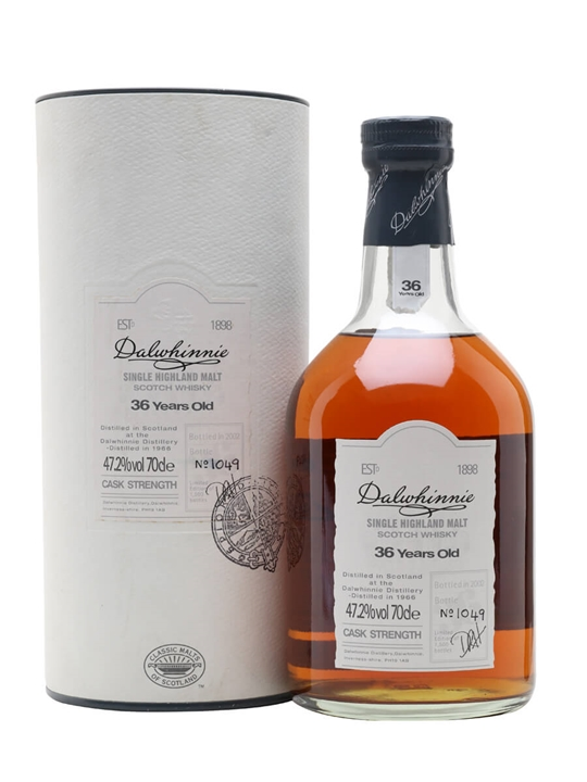 Dalwhinnie 1966 / 36 Year Old Speyside Single Malt Scotch Whisky