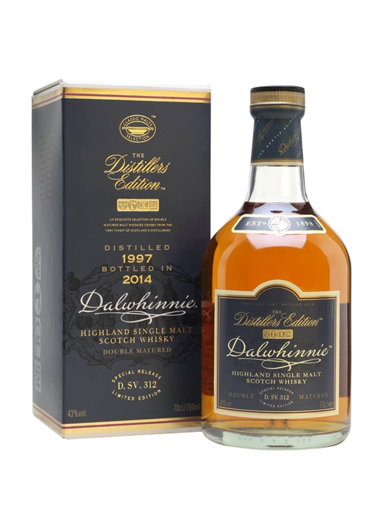 Dalwhinnie 1997 / Bot.2014 / Distillers Edition Speyside Whisky