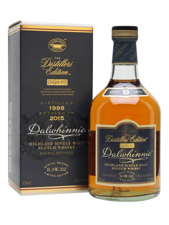 Dalwhinnie 1998 / Bot.2015 / Distillers Edition Speyside Whisky