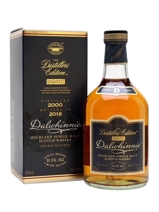 Dalwhinnie 2000 Distillers Edition / Bot.2016 Speyside Whisky