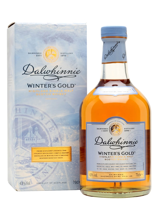 Dalwhinnie Winters Gold Speyside Single Malt Scotch Whisky