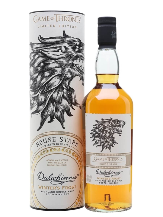Dalwhinnie Winter's Frost / Game Of Thrones House Stark Speyside Whisky