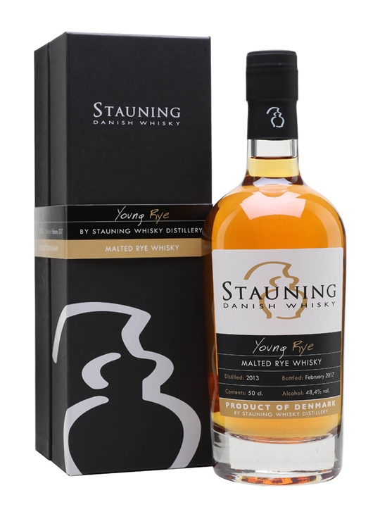 Stauning Young Rye Whisky 2013 / Bot.2017 Danish Malted Rye Whisky