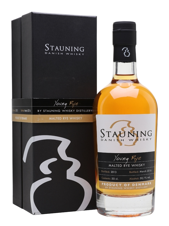 Stauning Young Rye Whisky 2013 / Bot.2016 Danish Malted Rye Whisky