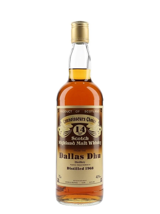 Dallas Dhu 1968 / 14 Year Old / Connoisseurs Choice Speyside Whisky