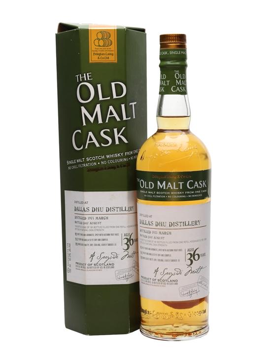 Dallas Dhu 1971 / 36 Year Old / Cask #3802 Speyside Whisky