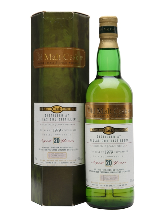 Dallas Dhu 1979 / 20 Year Old / Old Malt Cask Speyside Whisky