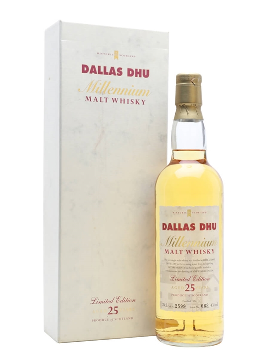 Dallas Dhu Millennium 1974 / 25 Year Old Speyside Whisky