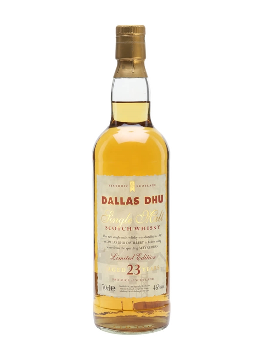 Dallas Dhu 1983 / 23 Year Old / Historic Scotland Speyside Whisky