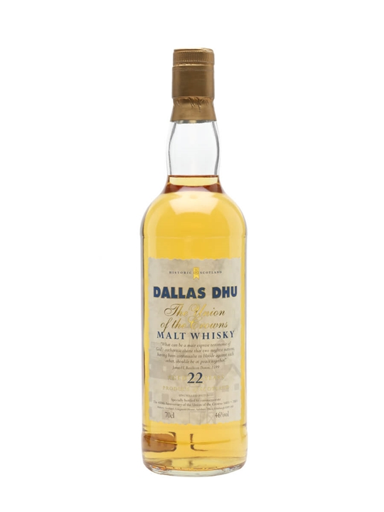 Dallas Dhu 22 Year Old / Union Of Crowns Speyside Whisky