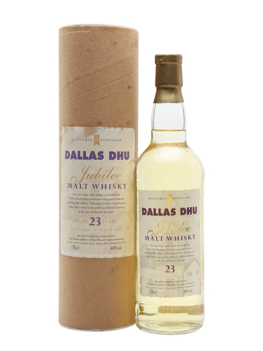 Dallas Dhu 23 Year Old / Queen's Golden Jubilee Speyside Whisky