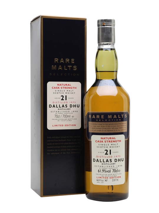 Dallas Dhu 1975 / 21 Year Old / Rare Malts Speyside Whisky