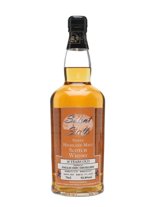 Dallas Dhu 1978 / 18 Year Old / Silent Stills / Signatory Speyside Whisky