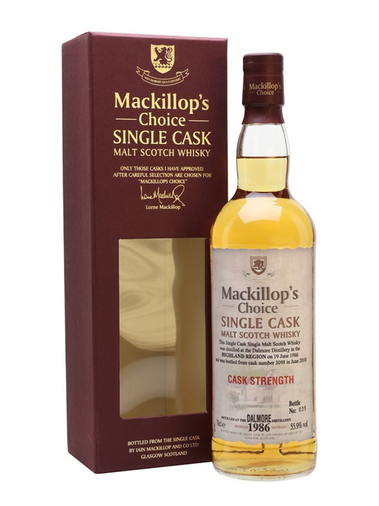 Dalmore 1986 / 23 Year Old / Mackillop's Highland Whisky