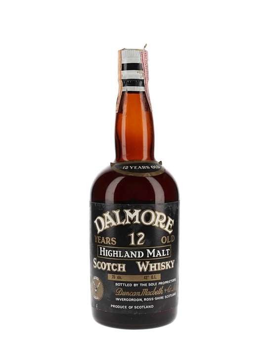Dalmore 12 Year Old / Bot.1970s Highland Single Malt Scotch Whisky