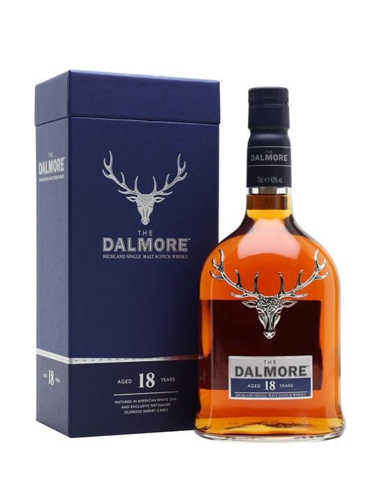 Dalmore 18 Year Old Highland Single Malt Scotch Whisky