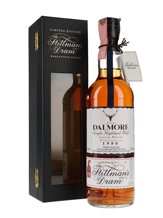 Dalmore 1980 / Stillmans Dram Highland Single Malt Scotch Whisky