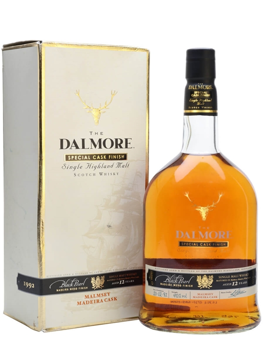 Dalmore 1992 / 12 Year Old / Black Pearl Madeira Highland Whisky