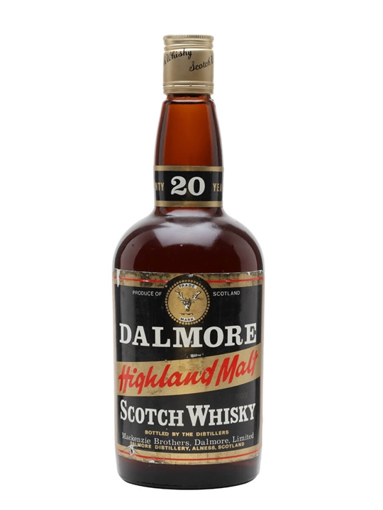 Dalmore 20 Year Old / Bot.1970s Highland Single Malt Scotch Whisky