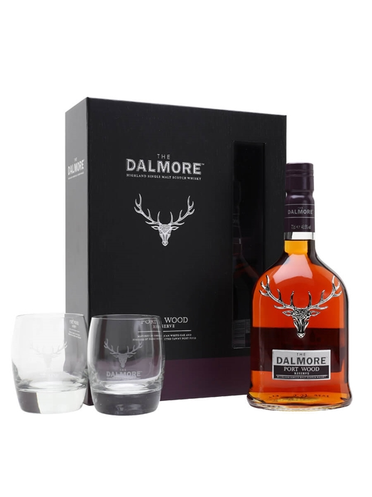 Dalmore Port Wood Reserve Gift Set Highland Single Malt Scotch Whisky