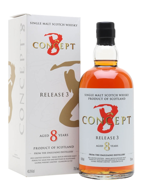 Dailuaine 8 Year Old / Concept 8 Release 3 Speyside Whisky