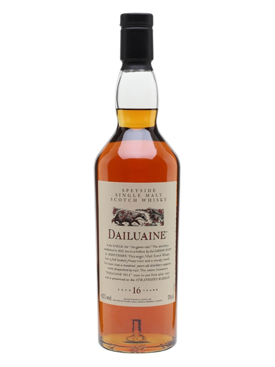 Dailuaine 16 Year Old / Sherry Cask / Flora & Fauna Speyside Whisky