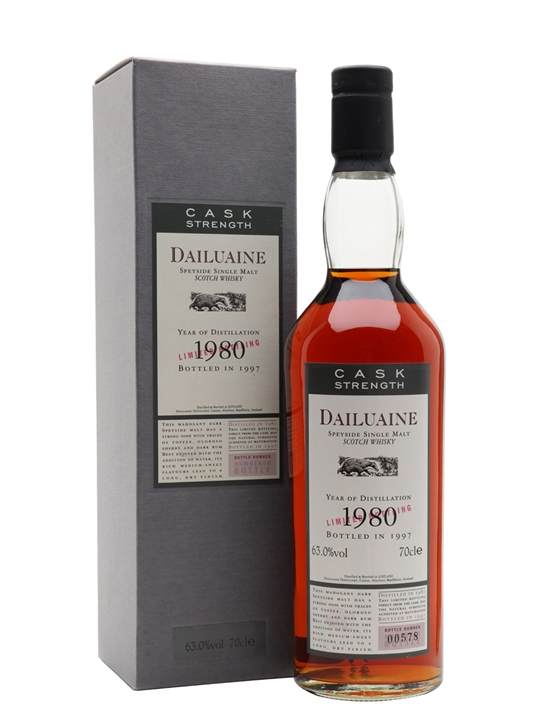 Dailuaine 1980 / 17 Year Old / Flora & Fauna Speyside Whisky