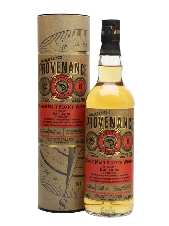 Dailuaine 2010 / 8 Year Old / Provenance Speyside Whisky