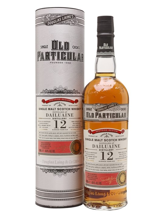 Dailuaine 2005 / 12 Year Old / Old Particular Speyside Whisky