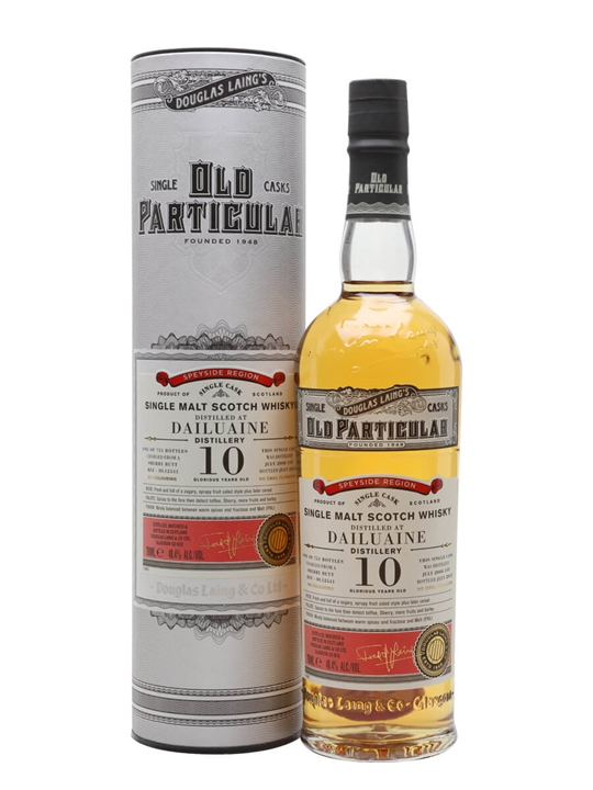 Dailuaine 2008 / 10 Year Old / Old Particular Speyside Whisky