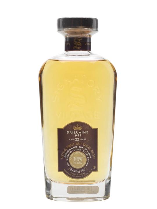Dailuaine 1997 / 22 Year Old / Signatory for TWE Speyside Whisky