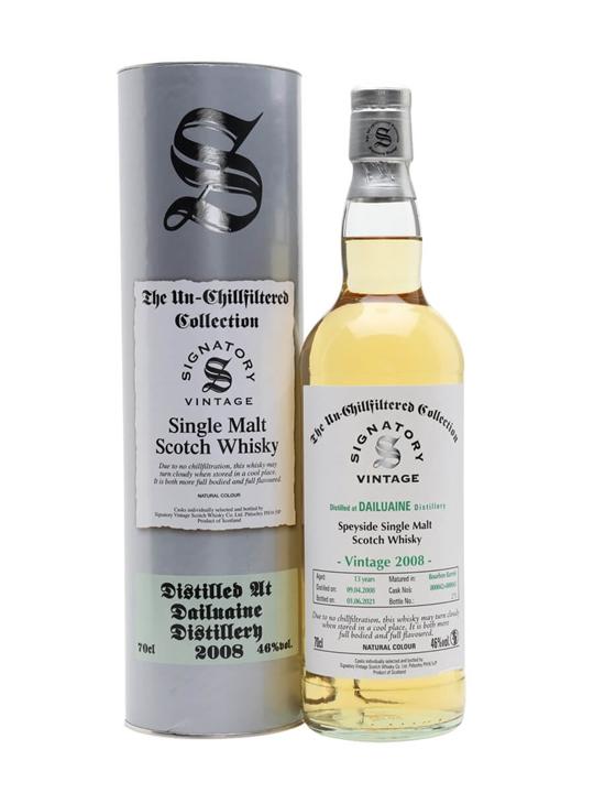 Dailuaine 2008 / 13 Year Old / Signatory Speyside Whisky
