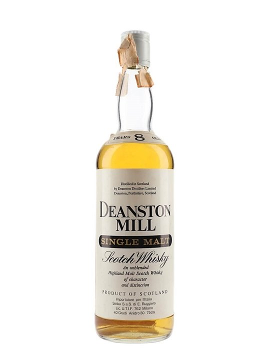 Deanston Mill 8 Year Old / Bot.1980s Highland Whisky