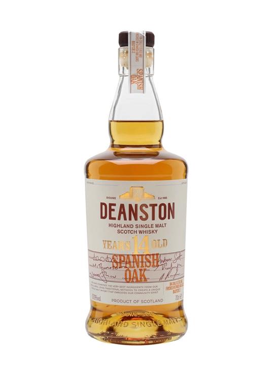 Deanston 14 Year Old / Spanish Oak Finish Highland Whisky