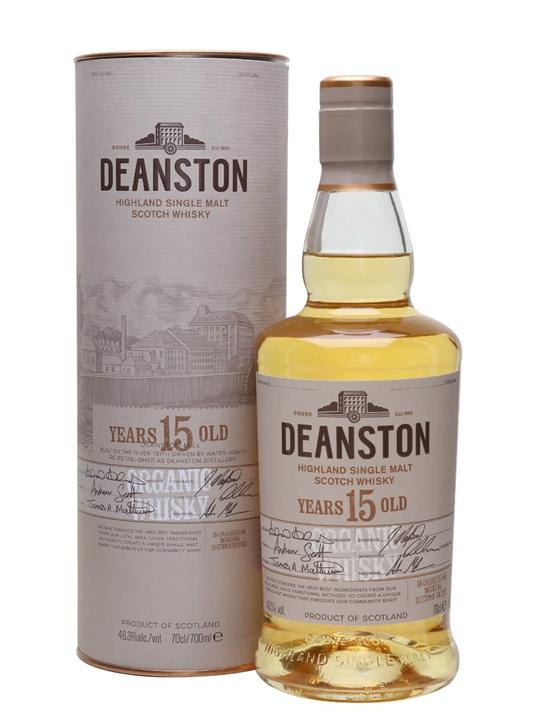Deanston 15 Year Old Organic Highland Single Malt Scotch Whisky