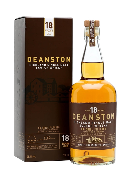 Deanston 18 Year Old / Batch 1 Highland Single Malt Scotch Whisky