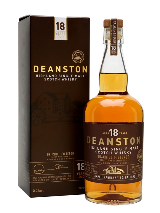 Deanston 18 Year Old / Batch 2 Highland Single Malt Scotch Whisky