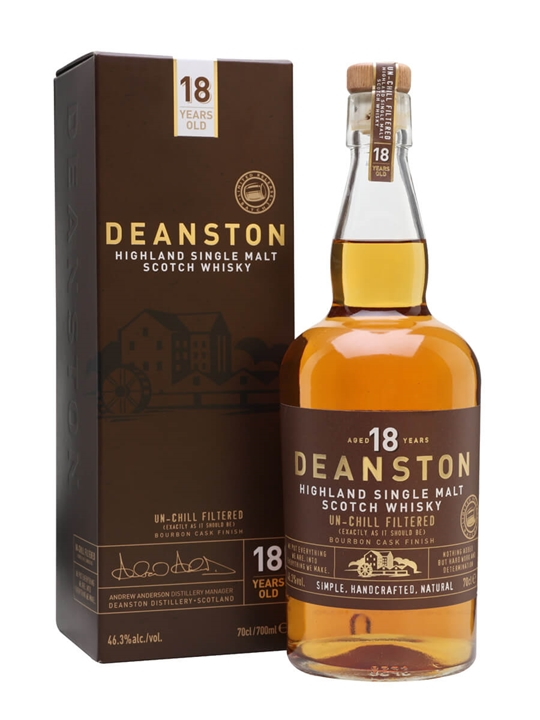 Deanston 18 Year Old / Batch 3 Highland Single Malt Scotch Whisky