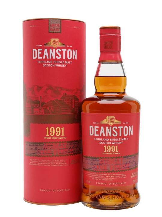 Deanston 1991 / 28 Year Old / Muscat Finish Highland Whisky