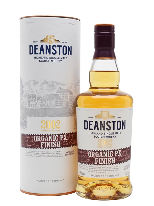 Deanston 2002 / 17 Year Old / Organic PX Finish Highland Whisky