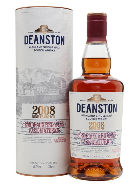 Deanston 2008 / Red Wine Matured Highland Single Malt Scotch Whisky