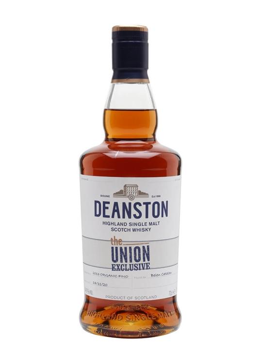 Deanston 2013 / Organic Fino Finish / Bot.2020 / Union Exclusive Highland Whisky