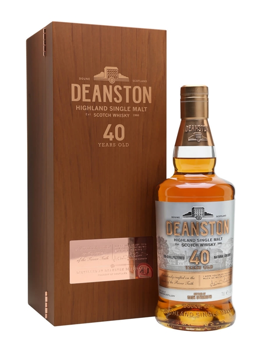 Deanston 40 Year Old Highland Single Malt Scotch Whisky