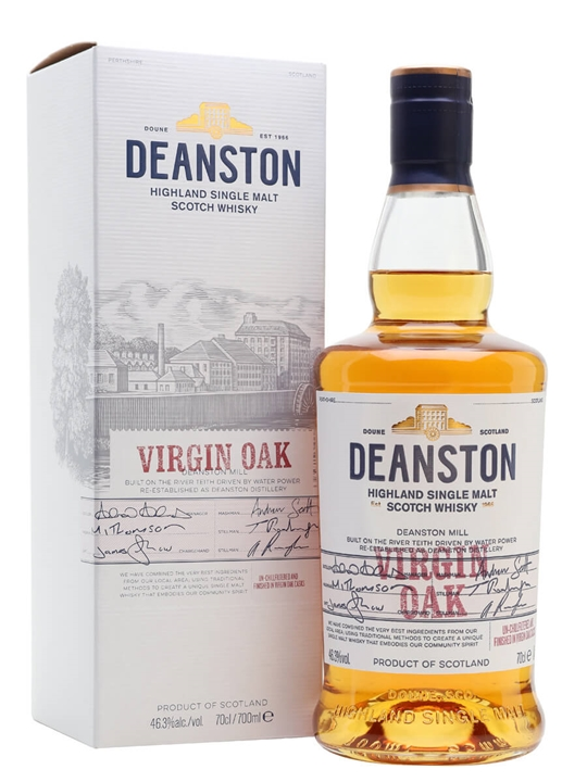 Deanston Virgin Oak Highland Single Malt Scotch Whisky