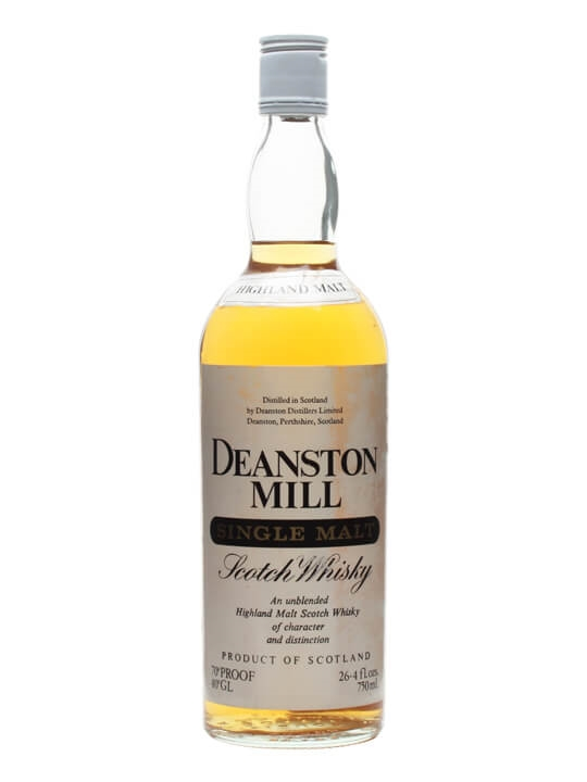 Deanston Mill / Bot.1970s Highland Single Malt Scotch Whisky