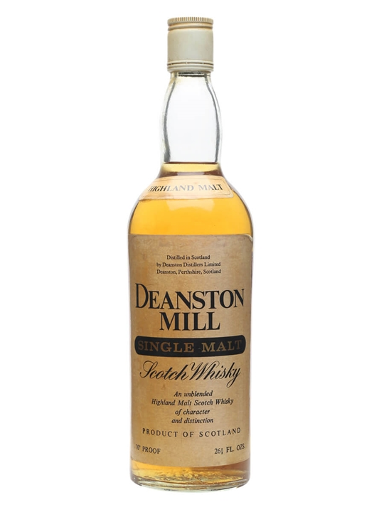 Deanston Mill / Bot.1970s Highland Single Malt Scotch Whisky