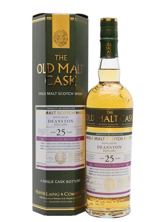 Deanston 1996 / 25 Year Old / Old Malt Cask Highland Whisky