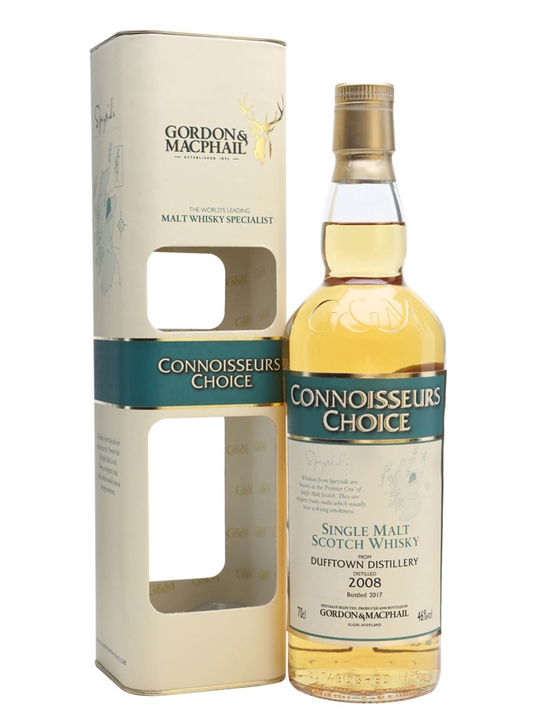 Dufftown 2008 / Bot.2017 / Connoisseurs Choice Speyside Whisky